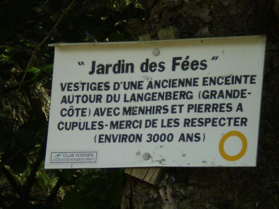 Jardin des Fées.