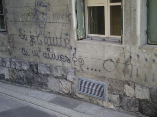 Lausanne. Rue Curtat.