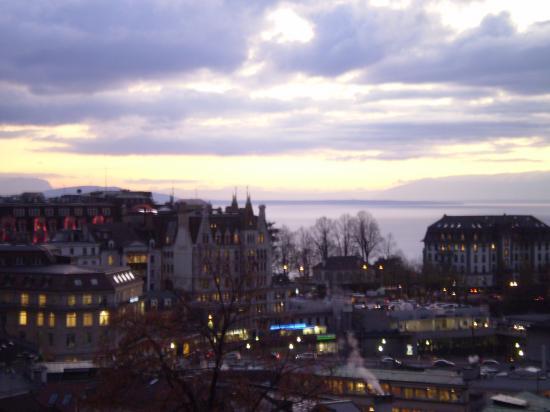 Lausanne. Autour de la place de l'Europe.