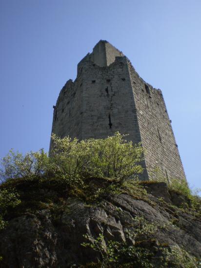 Ortenburg. Le mur-bouclier.