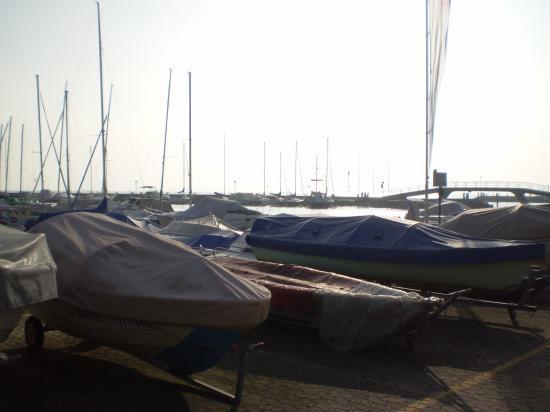 Lausanne. Le port d'Ouchy.