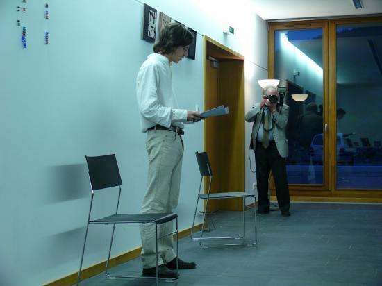 Si tu n'attends pas l'inattendu, m.e.e. Raphaël Heyer, Printemps des Poètes 2008, Médiathèque Josselmann de Rosheim.