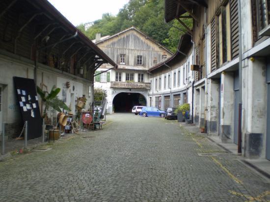Lausanne. Rue de l'Industrie.