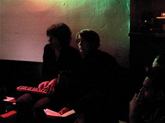 Lecture-projection au Standard Café, Lausanne, 2010
